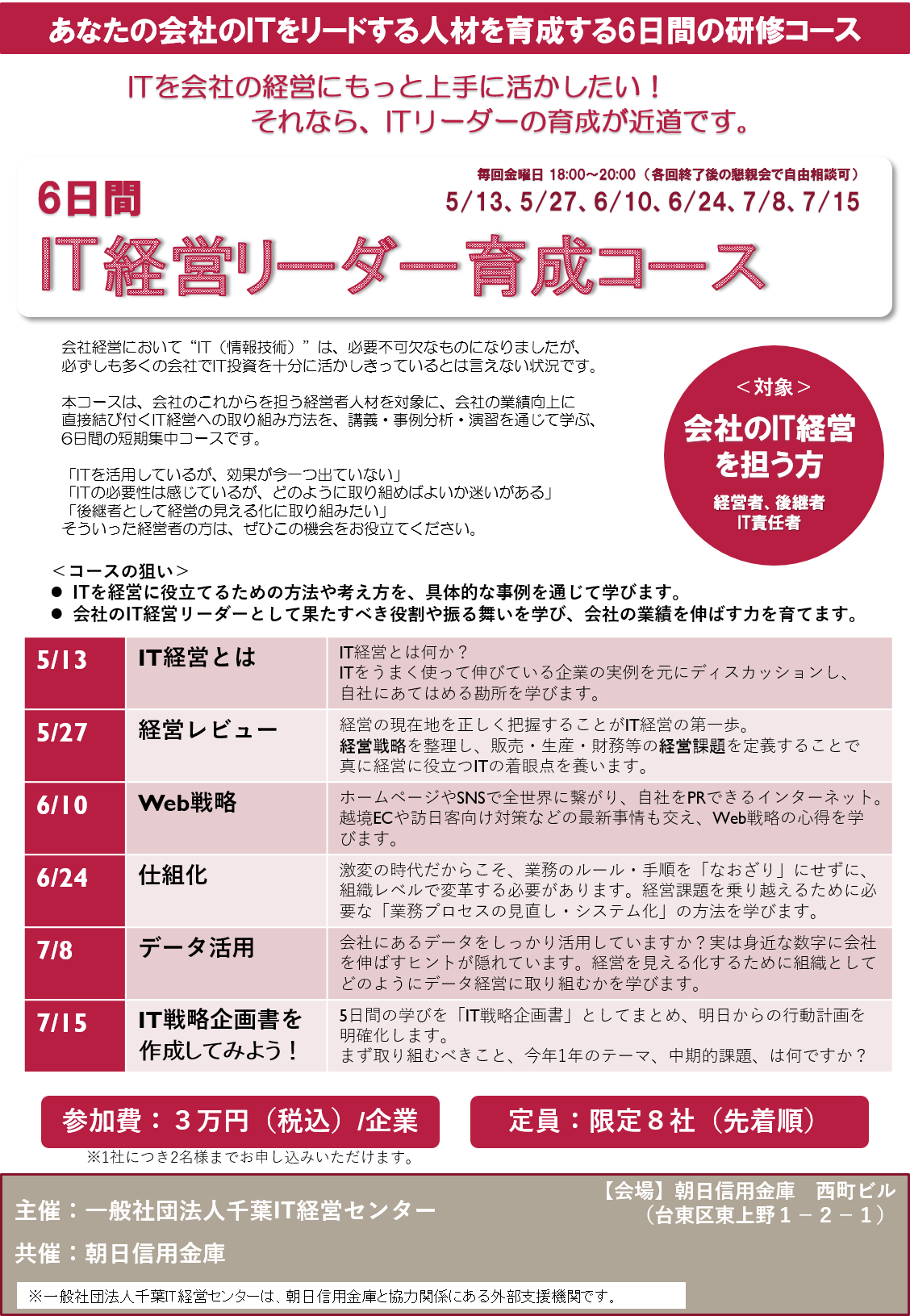 20160407_IT経営リーダー育成研修チラシV4