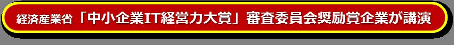 IT経営力大賞_審査委員奨励賞